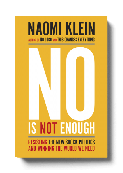 No is not enough book cover